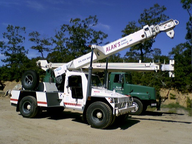 Terex purchased Franna, an Australian crane company