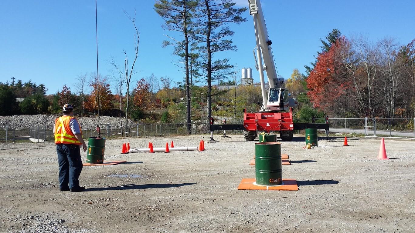 Crane operator rodeo at Woods CRW