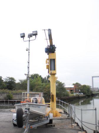 Dockside crane inspection for Sprague Energy